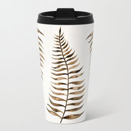 Palm Leaf – Sepia Travel Mug