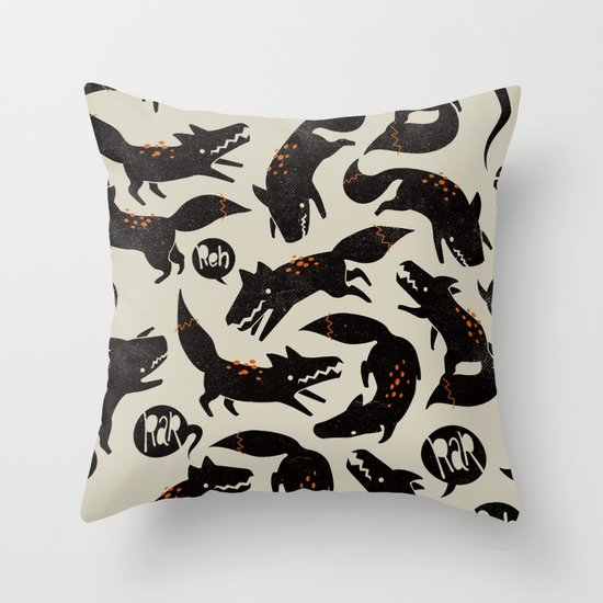 werewolfs Throw Pillow