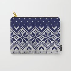 Winter knitted pattern 9 Carry-All Pouch