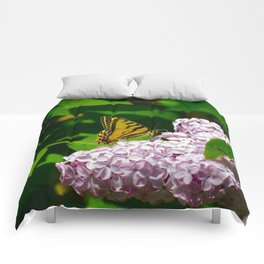 Pollination - Series; 1 of 3 Comforters