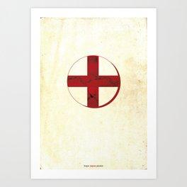 Hope Japan Art Print
