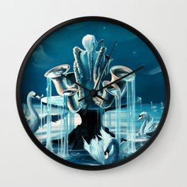 Everlasting Blues Wall Clock