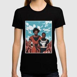 Strong black men T-shirt