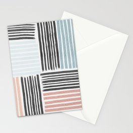 Different line strokes Stationery Cards