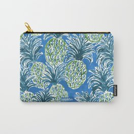 LAPIS PINEAPPLE O'CLOCK Tropical Print Carry-All Pouch