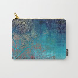 On the verge of Blue Carry-All Pouch