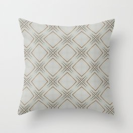 Mod Pattern Throw Pillow