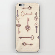 Keys to My Heart iPhone & iPod Skin
