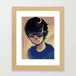 Melancholic Mood Framed Art Print