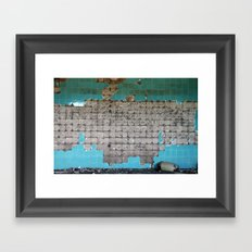 Al Quinetra in the Golan Heights of Syria Framed Art Print