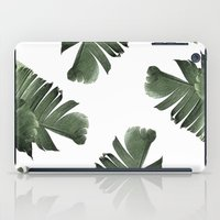 banana leaf iPad Cases featuring Banana Leaf Frenzy #society6 by 83 Oranges™