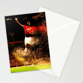 football star Stationery Cards