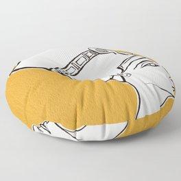 Queen Nefertiti Floor Pillow