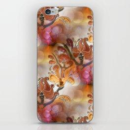discopattern orange -1- iPhone Skin