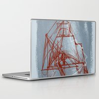boston Laptop & iPad Skins featuring Boston by LizSchafroth