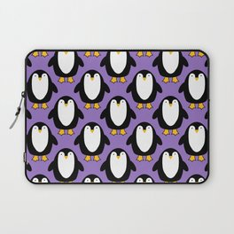 Pretty Penguin pretty in purple Laptop Sleeve