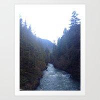 Seattle Washington  Art Print