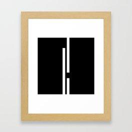 Ultra Minimal II- Framed Art Print