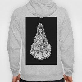 Chinese god. Beautiful goddess. Peace. Beauty concept. Meditation. Healing concept. Chinese medicine Hoody