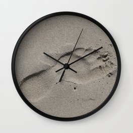 Footprint Wall Clock