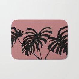 modern pink Bath Mat