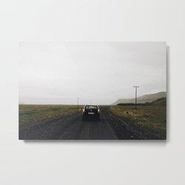 Dark Roads Metal Print