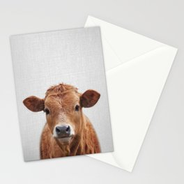 Cow 2 - Colorful Stationery Cards
