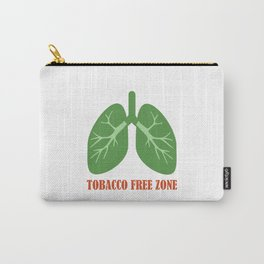 Tobacco Free Zone Carry-All Pouch