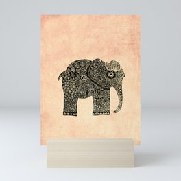 Boho Ella Mini Art Print