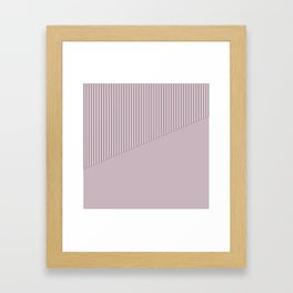 1 The combined pattern of Alize Framed Art Print