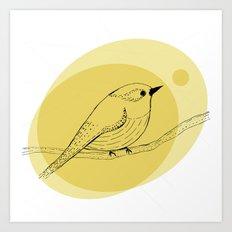 warbler Art Print