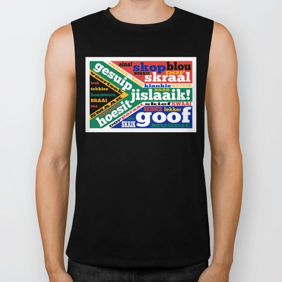 South African slang and colloquialisms Biker Tank