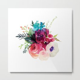 Florals V Metal Print