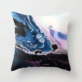 Nova - Original Abstract Painting Throw Pillow