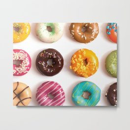 I Donut Care Metal Print