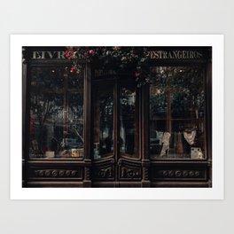 The Book Shop Art Print