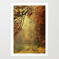 forest glade Art Print