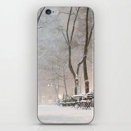 New York City Snow iPhone Skin
