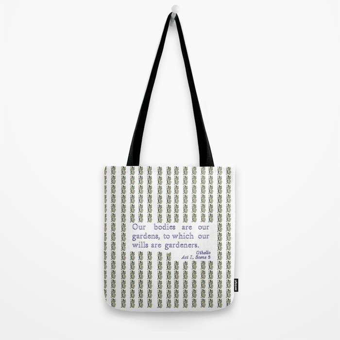 Othello quotation Tote Bag