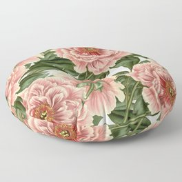Peonies Floor Pillow