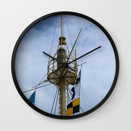 Light Vessel Mast Wall Clock