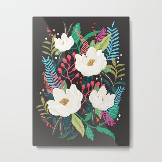 The Garden of Alice, flower, floral, blossom art print Metal Print