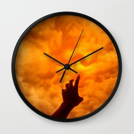 Dare to Reach Higher Wall Clock