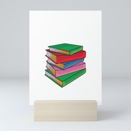 School Teacher Reading Book Lover Gifts My Weekend Is Booked Mini Art Print
