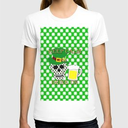 Keep Calm Drink On - St Patrick Day T-shirt