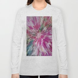 Abstract flower pattern 3 Long Sleeve T-shirt