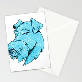 Bingley Terrier Head Drawing Stationery Cards