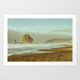 Oregon Coast, A Cannon Beach Dream Art Print
