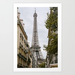 Eiffel Tower in Paris France Art Print