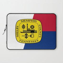 Flag of memphis Laptop Sleeve
